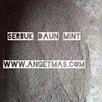 Serbuk Daun Mint atau Menthol