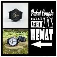 Paket couple jam tangan costum premium