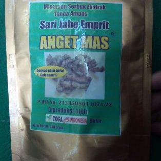 Minuman Ekstrak Jahe Emprit Anget Mas / Sari Jahe Emprit Anget Mas
