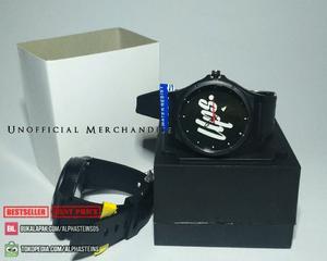jam tangan analog gratis batrei cadangan pkus stiker