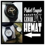Paket couple jam tangan costum premium